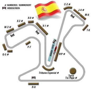 4200 agentes para el gran premio de jerez de motogp blog for Puerta 3 circuito jerez