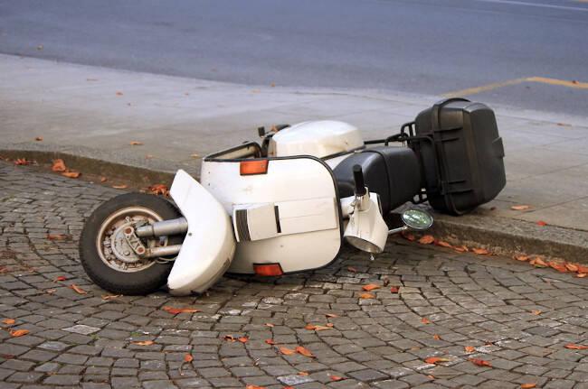 levantar moto