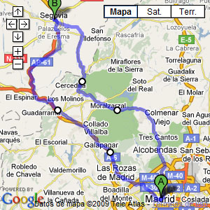 madrid - segovia - madrid