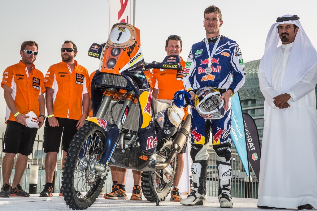 Marc Coma se proclama vencedor en Abu Dhabi