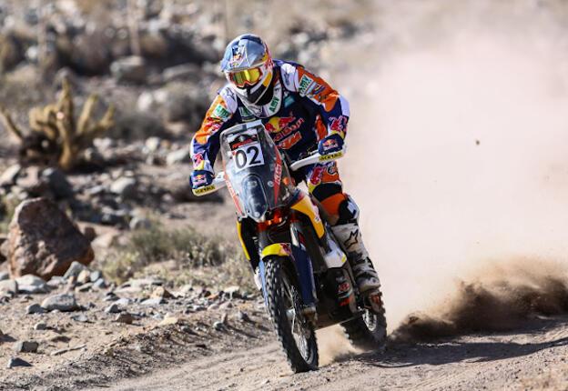 Imagen de Marc Coma en el Atacama Rally.