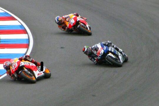 Carrera en el Cameponato de MotoGP de Aragón