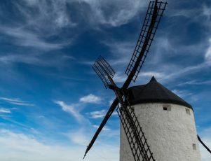 Molino de viento El Quijote