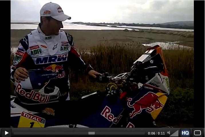 Moto Marc Coma Dakar 2012