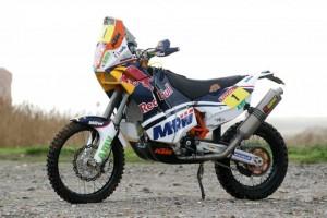 La moto de Marc Coma