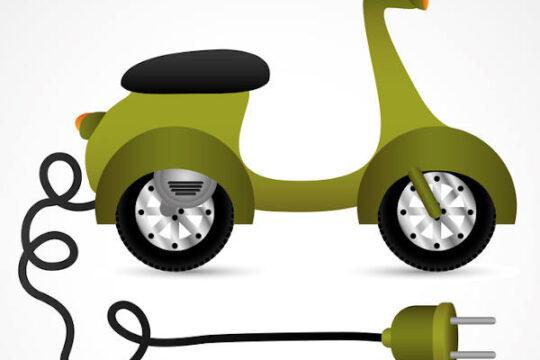 Moto eléctrica.