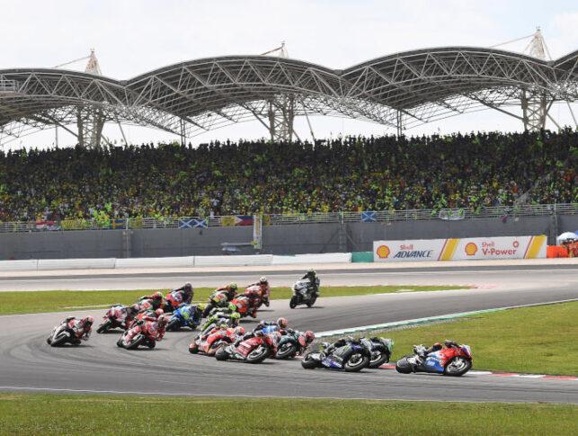 Circuito de MotoGP de Sepang en Malasia.
