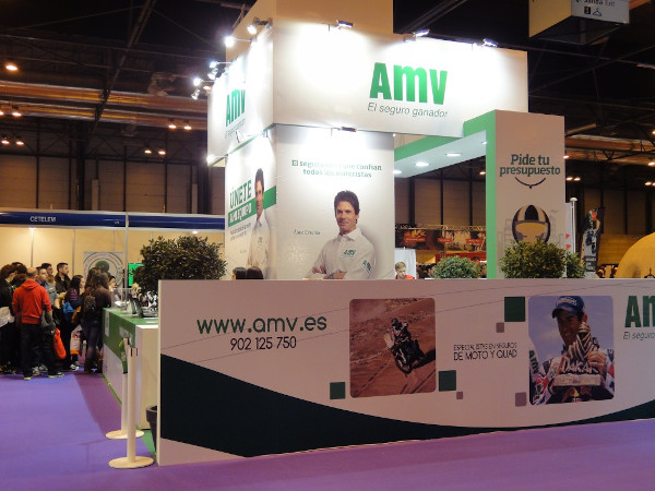 AMV Seguros en el Salón MotoMadrid 2014