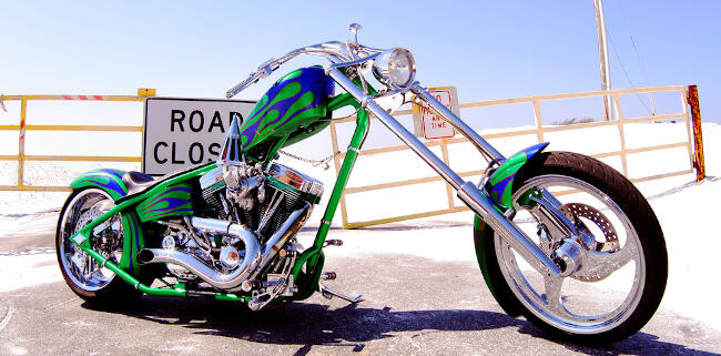 Motos custom. Chopper.