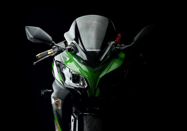 Kawasaki ninja 300 Bangkok Thailand. 15 July 2017