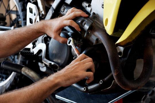 Motos para restaurar. Puesta a punto de la moto.