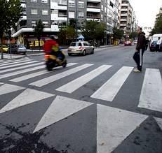 paso de peatones moto