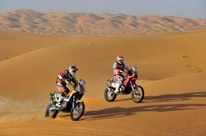 Los pilotos AMV en el Dakar 2015