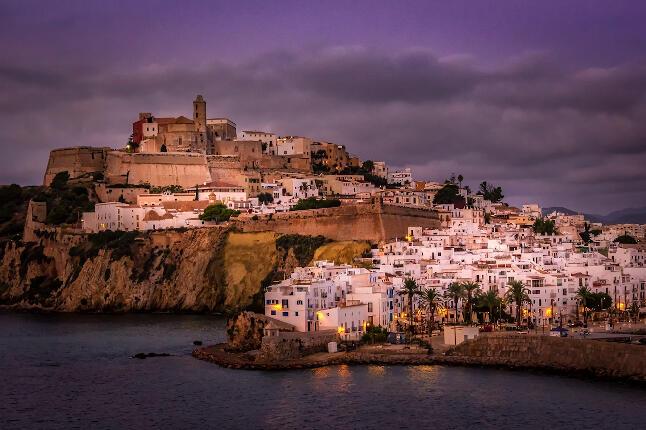 Vista del Puerto de Ibiza