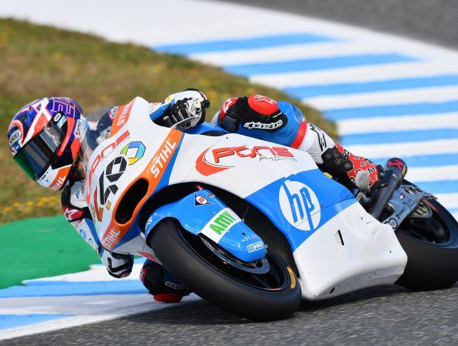 Fabio Quartararo, Acción GP Jerez (Pons HP 40)