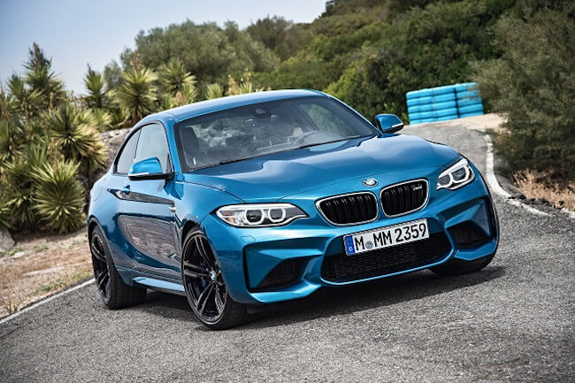 La última adquisición de Marc Márquez es este deslumbrante BMW M2 Coupé Long Beach Blue Metallic