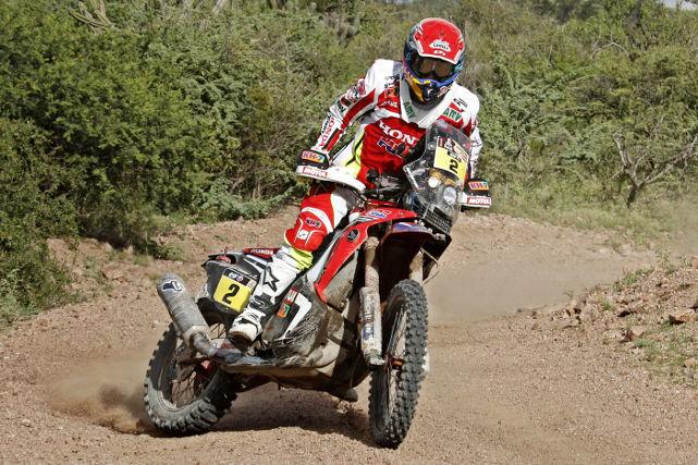 Joan Barreda en el Rally de Marruecos (AMV prensa)