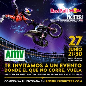 Concurso AMV: Gana 1 entrada doble para el Red Bull X Fighters 2014