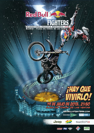 Póster Red Bull Fighters 2013