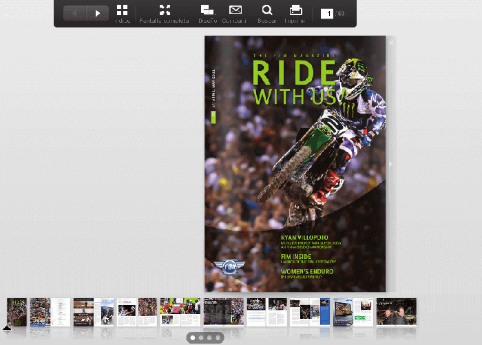 Revista de la FIM Ride with us!