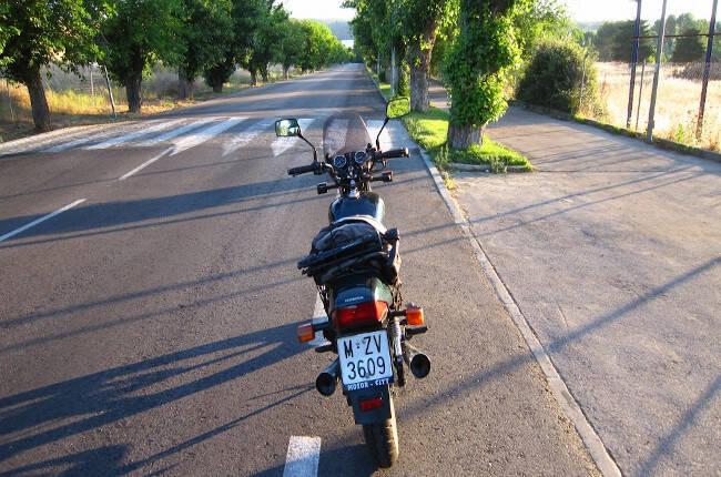 Ruta en moto AMV: Paso por San Agustín de Guadalix