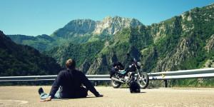 Ruta en moto AMV: Descanso