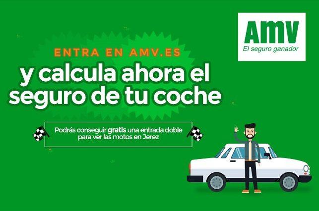 Concurso AMV - Calcula tu seguro de coche y entra en el sorteo de una entrada doble para Jerez