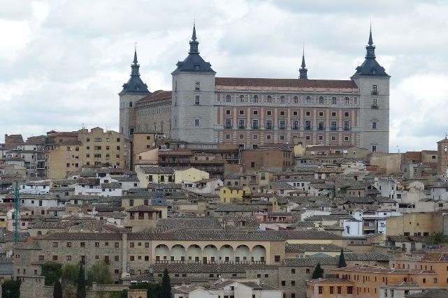 Vista aérea de Toledo ( El Quijote)