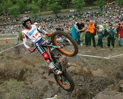 toni bou trial outdoor