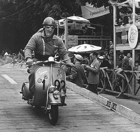 Modelos de moto clásica: Vespa