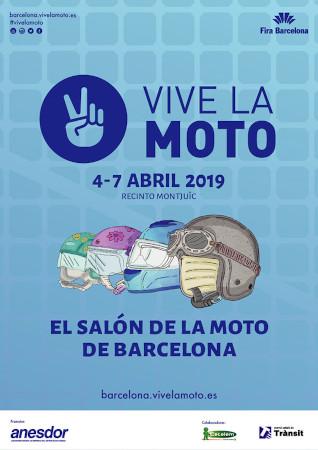 Póster VIVE LA MOTO 2019