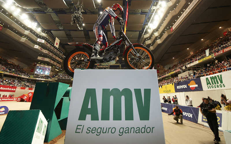 AMV patrocina el Trial Indoor